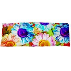 Colorful Daisy Garden Body Pillow Case Dakimakura (two Sides) by DanaeStudio