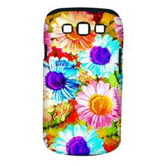 Colorful Daisy Garden Samsung Galaxy S Iii Classic Hardshell Case (pc+silicone) by DanaeStudio