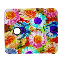 Colorful Daisy Garden Galaxy S3 (flip/folio) by DanaeStudio
