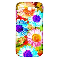 Colorful Daisy Garden Samsung Galaxy S3 S Iii Classic Hardshell Back Case by DanaeStudio