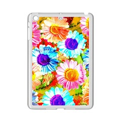 Colorful Daisy Garden Ipad Mini 2 Enamel Coated Cases by DanaeStudio