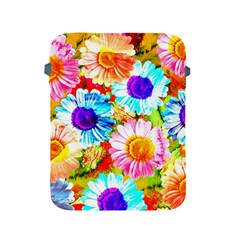 Colorful Daisy Garden Apple Ipad 2/3/4 Protective Soft Cases by DanaeStudio