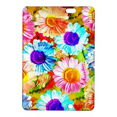 Colorful Daisy Garden Kindle Fire Hdx 8 9  Hardshell Case by DanaeStudio