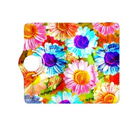 Colorful Daisy Garden Kindle Fire Hdx 8 9  Flip 360 Case by DanaeStudio