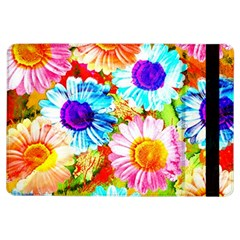 Colorful Daisy Garden Ipad Air Flip by DanaeStudio