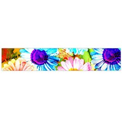 Colorful Daisy Garden Flano Scarf (large) by DanaeStudio