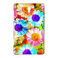 Colorful Daisy Garden Samsung Galaxy Tab S (8 4 ) Hardshell Case  by DanaeStudio