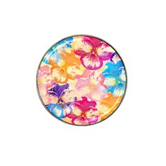 Colorful Pansies Field Hat Clip Ball Marker (4 pack)
