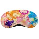 Colorful Pansies Field Sleeping Masks