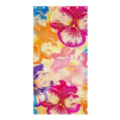 Colorful Pansies Field Shower Curtain 36  x 72  (Stall)