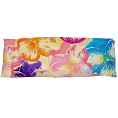Colorful Pansies Field Body Pillow Case Dakimakura (Two Sides)