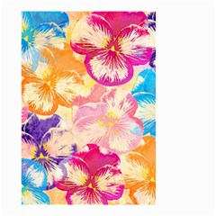 Colorful Pansies Field Small Garden Flag (Two Sides)