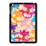 Colorful Pansies Field Apple iPad Mini Case (Black)