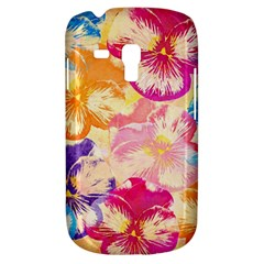 Colorful Pansies Field Galaxy S3 Mini by DanaeStudio