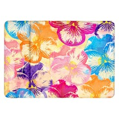Colorful Pansies Field Samsung Galaxy Tab 8 9  P7300 Flip Case by DanaeStudio