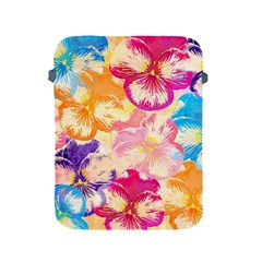 Colorful Pansies Field Apple iPad 2/3/4 Protective Soft Cases