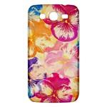 Colorful Pansies Field Samsung Galaxy Mega 5.8 I9152 Hardshell Case