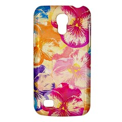 Colorful Pansies Field Galaxy S4 Mini by DanaeStudio