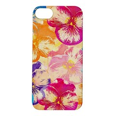 Colorful Pansies Field Apple Iphone 5s/ Se Hardshell Case by DanaeStudio