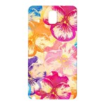 Colorful Pansies Field Samsung Galaxy Note 3 N9005 Hardshell Back Case