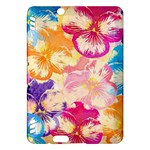 Colorful Pansies Field Kindle Fire HDX Hardshell Case