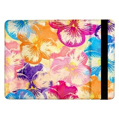 Colorful Pansies Field Samsung Galaxy Tab Pro 12.2  Flip Case