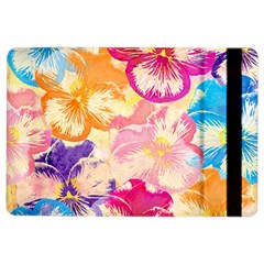 Colorful Pansies Field Ipad Air 2 Flip