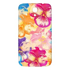 Colorful Pansies Field Samsung Galaxy Mega I9200 Hardshell Back Case by DanaeStudio