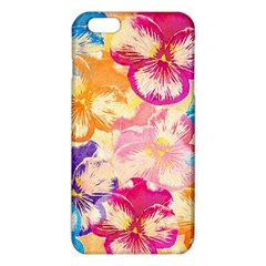 Colorful Pansies Field Iphone 6 Plus/6s Plus Tpu Case by DanaeStudio