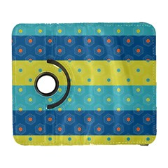 Hexagon And Stripes Pattern Galaxy S3 (flip/folio) by DanaeStudio