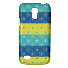 Hexagon And Stripes Pattern Galaxy S4 Mini by DanaeStudio
