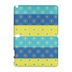 Hexagon And Stripes Pattern Galaxy Note 1 by DanaeStudio