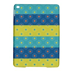 Hexagon And Stripes Pattern Ipad Air 2 Hardshell Cases by DanaeStudio