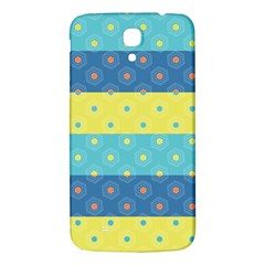 Hexagon And Stripes Pattern Samsung Galaxy Mega I9200 Hardshell Back Case