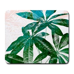 Pachira Leaves  Large Mousepads by DanaeStudio