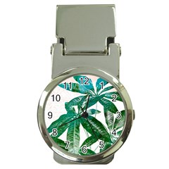 Pachira Leaves  Money Clip Watches by DanaeStudio
