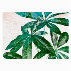 Pachira Leaves  Large Glasses Cloth by DanaeStudio