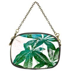 Pachira Leaves  Chain Purses (two Sides)