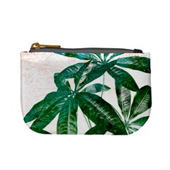 Pachira Leaves  Mini Coin Purses