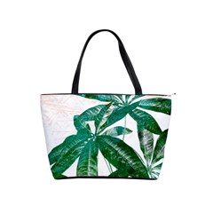Pachira Leaves  Shoulder Handbags