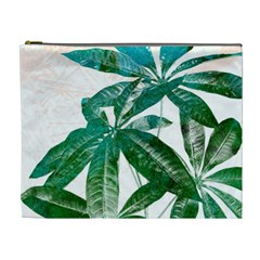 Pachira Leaves  Cosmetic Bag (xl)