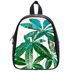 Pachira Leaves  School Bags (small)