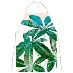 Pachira Leaves  Full Print Aprons