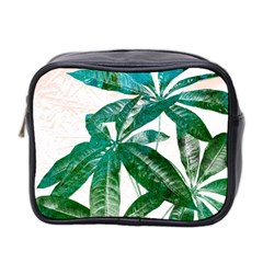Pachira Leaves  Mini Toiletries Bag 2 Side