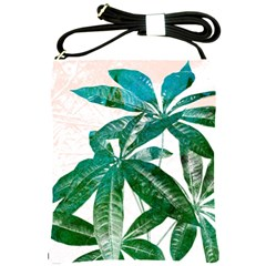 Pachira Leaves  Shoulder Sling Bags