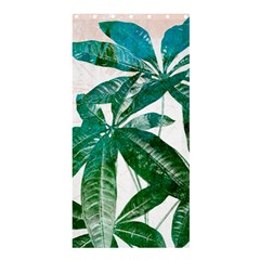 Pachira Leaves  Shower Curtain 36  X 72  (stall)