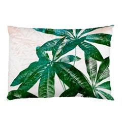 Pachira Leaves  Pillow Case (two Sides)