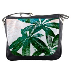 Pachira Leaves  Messenger Bags