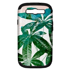 Pachira Leaves  Samsung Galaxy S Iii Hardshell Case (pc+silicone)