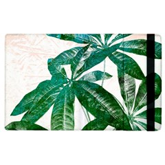 Pachira Leaves  Apple Ipad 2 Flip Case